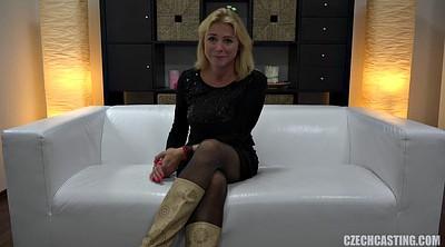 Interview, Mature casting, Casting mature, Mature sucking cock